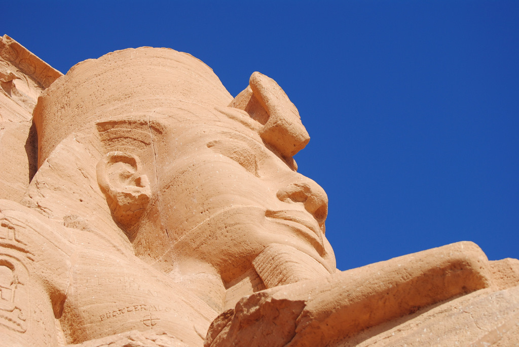 Ramses II at Abu Simbel