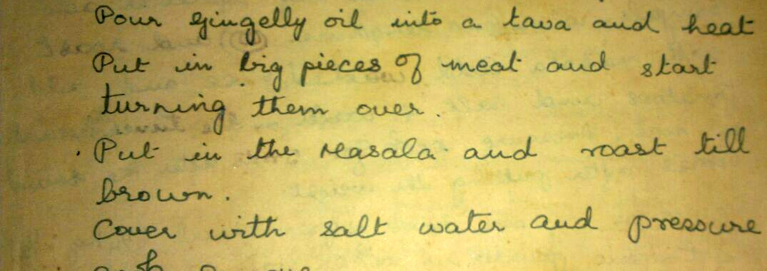 A family heirloom - the recipe for beef fry
